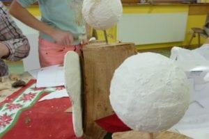 Holzengelbasteln